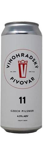 11 Unfiltered Czech Pilsner