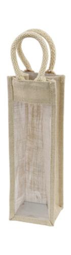 Hessian Wine Carrier - 1 bottle