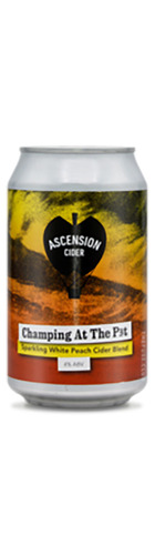 Champing At the Pit Peach Cider