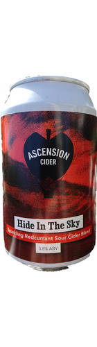 Hide In the Sky Redcurrant Cider