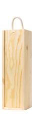 1 bottle Wooden Box - Sliding Lid