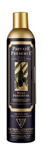 Private Preserve - Wine Preservation Spray