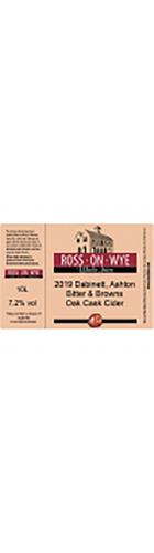 Dabinett/Ashton Bitter/Browns Oak Cask Blend