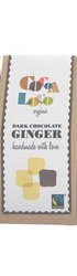 Dark Chocolate-covered Ginger Pieces (100g)