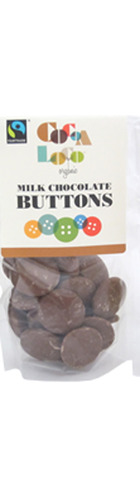 Milk Chocolate Buttons - 100g