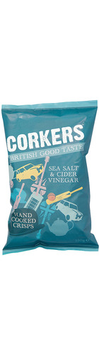 Sea Salt & Cider Vinegar Potato Crisps - 150g