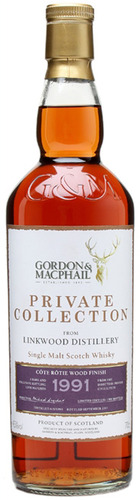 Private Collection Linkwood 1991 - Cote Rotie Wood Finish