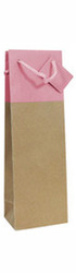 1 bt Gift Bag - Pink & Natural