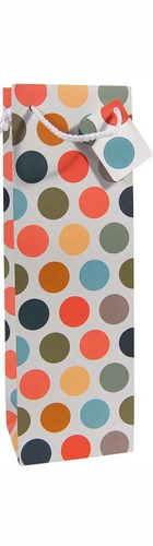1bt Gift Bag - Coloured Dots