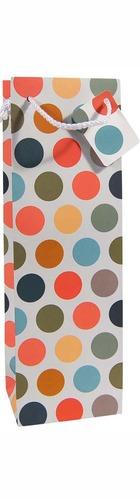 1bt Gift Bag - Coloured Dots