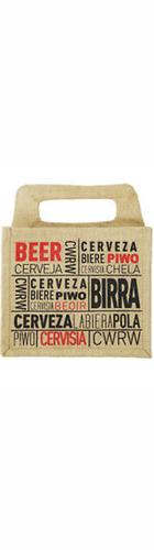 6 bt Ale Hessian Bags