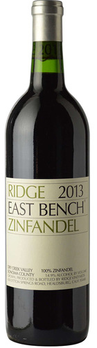 East Bench Dry Creek Valley Zinfandel