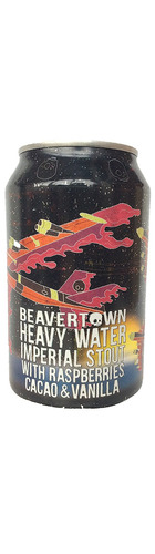 2019 Heavy Water Imperial Stout With Raspberries, Cacao & Vanilla -  CAN