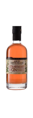 Strawberry & Gin Alcoholic Cordial