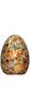 Standard 18cm Sunburst Yellow & Red Easter Egg - 30% Nicalizo Milk Chocolate
