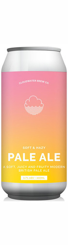 A Soft & Hazy Pale Ale - CAN