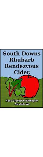 Rhubarb Rendezvous Cider