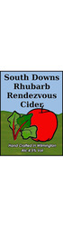 South Downs Rhubarb Cider