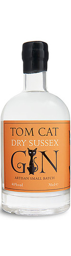 Tom Cat Sussex Dry Gin - 70cl