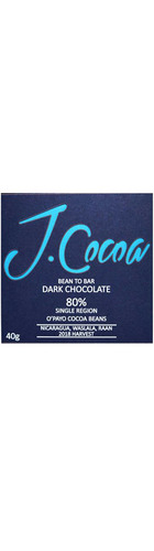 80% Organic Dark Chocolate - O'Payo (40g)