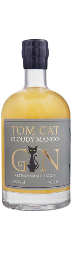 Tom Cat Cloudy Mango Gin - 70cl
