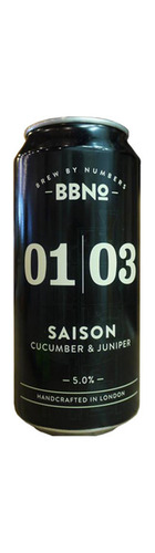 01 Saison Cucumber & Juniper - CAN