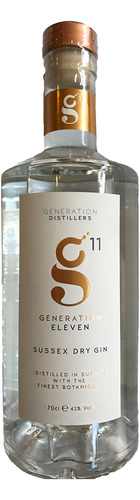 Generation 11 Sussex Dry Gin - 70cl