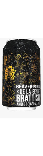 Beavertown x De La Senne: Brattish Pale Ale - CAN