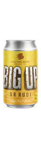 Big UP Single Hop Pale Ale Dr Rudi - CAN