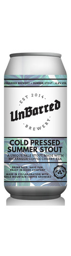 Cold Press Summer Stout - CAN