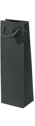 1 bt Gift Bag - Grey Pattern