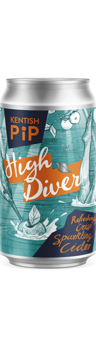 High Diver Refreshingly Crisp Sparkling Cider - CAN