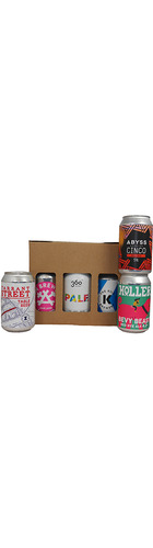 Local Canned Craft Beers In A Gift Box - 6 x 33cl cans