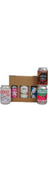Local Canned Craft Beers In A Gift Box - 6 x 33cl cans Image