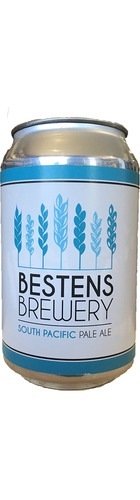 Bestens South Pacific Pale Ale - CAN
