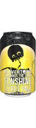 Beavertown x Against The Grain: Sunshine Citrus Pale - CAN
