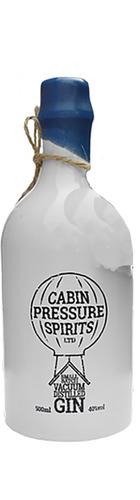 Cabin Pressure Vacuum Distilled Gin - 70cl