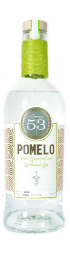 Pomelo Pink Grapefruit & Wormwood Gin - 70cl