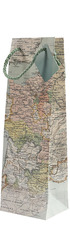 1bt Gift Bag - Antique Map