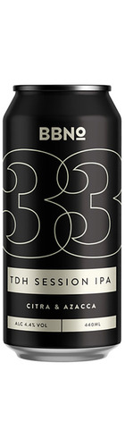 33 TDH Session IPA Citra & Azacca - CAN
