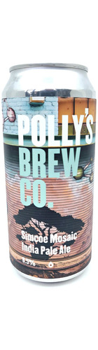 Polly's Brew Simcoe Mosaic IPA - CAN