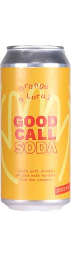 Orange & Loral Soda - CAN