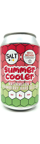 Salt x Brick: Summer Cooler Hard Seltzer - CAN