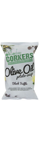 Black Truffle Crisps Olive Oil Crisps - 130g