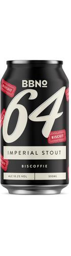 64 Biscoffie Imperial Stout