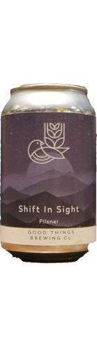 Shift In Sight Pilsner