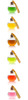 Pickerings Festively flavoured Gin Baubles (pack of 6)