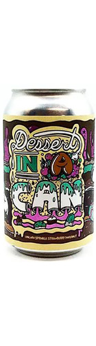 Dessert In A Can - Unicorn Sprinkles Strawberry Doughnut Imperial Stout